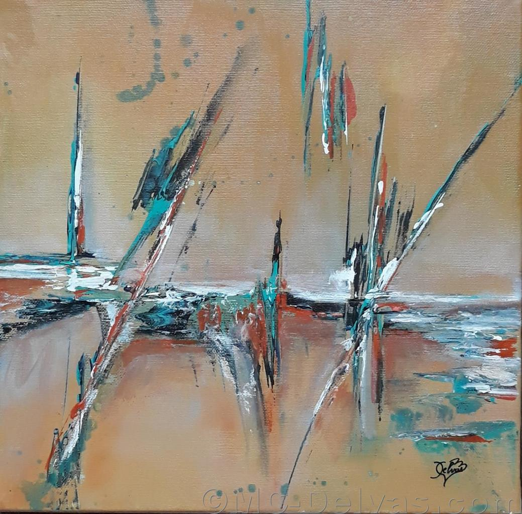 Reflets (30x30)