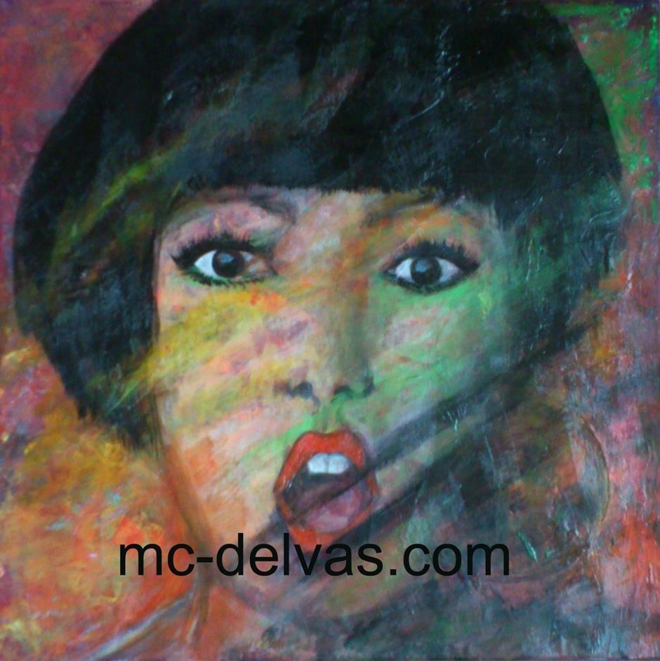 Portrait surprise (40x40)